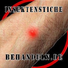 Insektenstiche behandeln Logo